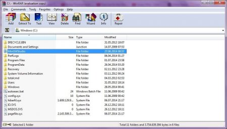 WinRAR for Windows Vista